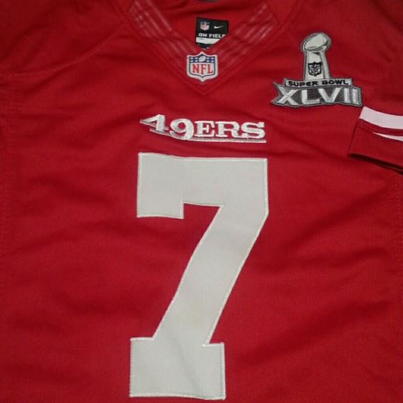 d6085437 NFL SAN FRANCISCO 49ERS FOOTBALL TEAM TOP JERSEY